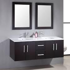 cambridge 59 inch double basin sink vanity set two sinks two