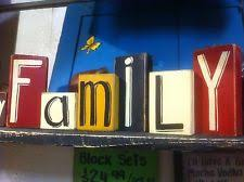 home decor family signs wooden family names home décor plaques signs ebay