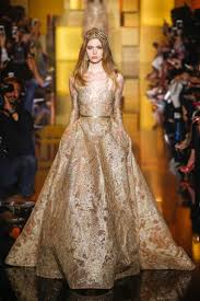 elie saab gold and silver wedding dresses collection u2013 designers