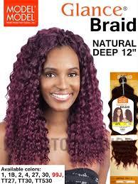 model model crochet hair model model glance braid 12 inches