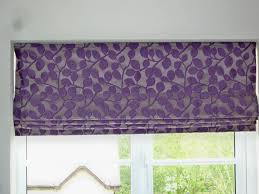 Bedroom Design Liverpool Liverpool Roman Blinds Floral Roman Blind In Purple And Silver