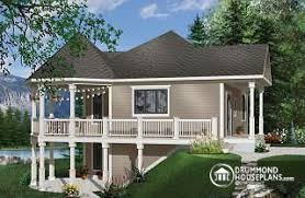sloping house plans sloping and hillside designs from drummondhouseplans com