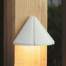 Kichler Deck Lights 3000k 12v Led Deck Light In Wht