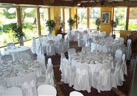 rent chair covers white chair covers with ivory sashes for wedding northwest