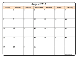 printable december 2016 calendar pdf august 2016 calendar printable printable calendars pinterest