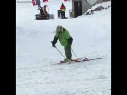Ski Meme - drunk guy trying to ski youtube