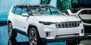 jeep concept cars jeep u0027s plug in hybrid suv concept debuts with a 40 miles all