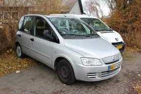 fiat multipla for sale fiat multipla van 1 9 jtd van driven km 78792 årgang 2010 chassis