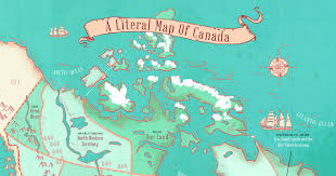 map of canada by province this map shows the true meaning every province name in