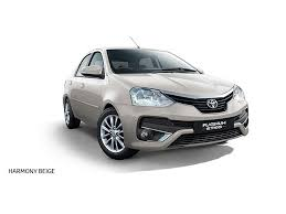 toyota white car toyota platinum etios price review mileage features specifications