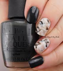 failed camouflage nail art with opi nail polishes be happy and