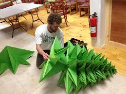 origami tree ornaments easy home design ideas