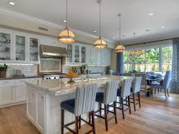 open concept white kitchen living room