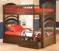 Atlantic Furniture WIndsor Twin Over Twin Bunk Bed - Step 2 bunk bed