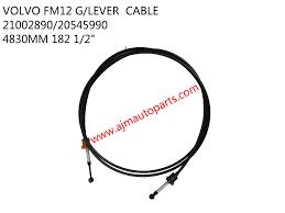trak volvo volvo fh gear lever cable 21002890 20545990 ajm auto continental
