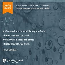 Prayer To Comfort Someone Son Death Poems