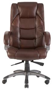 brown leather executive desk chair high back soft feel leather executive office chair brown
