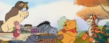 a look at disney a winnie the pooh thanksgiving manic expression