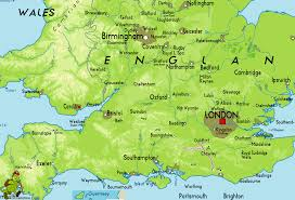 Southampton England Map by Link