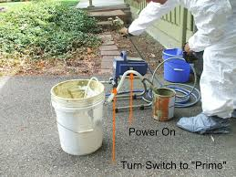 can you use a paint sprayer to paint kitchen cabinets how to use an electric paint sprayer