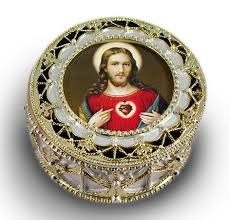 sacred heart rosary sacred heart of jesus gold rosary box 489 shj7 buy a great gift