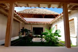 a six bedroom beach house in panama a central courtyard with