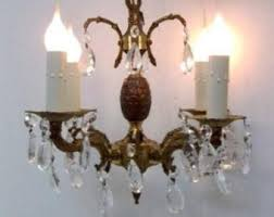 Plug In Crystal Chandelier An Eclectic Mix Of Vintage Lighting Jewelry And By Dondilights