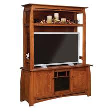 Oak Tv Cabinets With Glass Doors Boulder Creek Tv Cabinet Shipshewana Furniture Co
