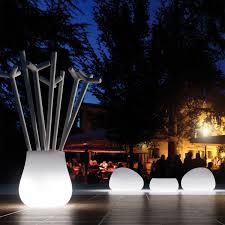 Led Outdoor Furniture - muebles de exterior fabricados en polietileno con o sin luz led