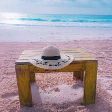 pink sands beach in the bahamas popsugar smart living