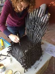 Chair Game Of Thrones How We 3d Printed An Iron Throne Doodaddoes