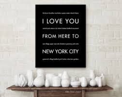 New York City Home Decor Nyc Art Etsy