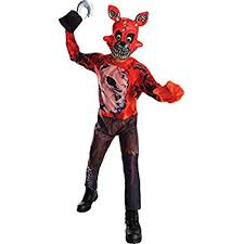 foxy costume rubie s costume boys five nights at freddy s nightmare