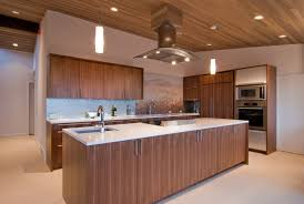 appealing brown color walnut kitchen cabinets with rectangle shape