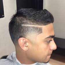 fade haircut comb over top men haircuts