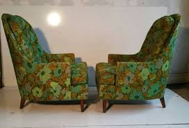 Oversized Lounge Chair Pair Of Oversized Lounge Chairs Mid Century Modern Custom Built