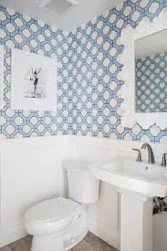 phillip jeffries imperial gates periwinkle wallpaper in powder