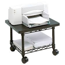 Under Desk Printer Stand Wood by Under Desk Printer Cart Hostgarcia