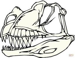 skeleton coloring dinosaur bones coloring page with skeleton coloring page