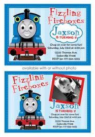 thomas the train birthday party invitations birthday party