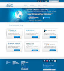 Free Homepage For Website Design Devon Intl Group Website Harterdesign Com Web Design U0026 Development