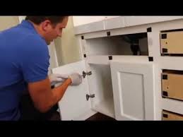 how to turn kitchen cabinets into shaker style cabinet refacing change a partial overlay cabinet door into overlay style