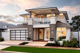 contemporary double storey residential villa amazing