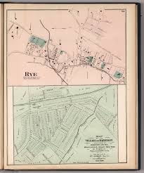 Map Of The Erie Canal Rye New York Village Of Harrison New York David Rumsey