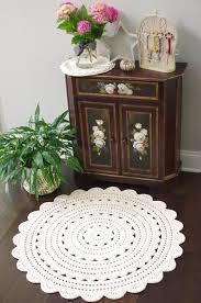 Easy Crochet Oval Rug Pattern The 25 Best Crochet Doily Rug Ideas On Pinterest Doily Rug