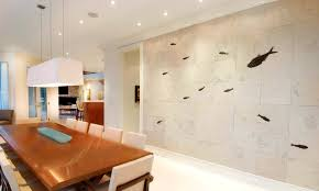 Stone On Walls Interior Fish Fossil Wall Art Furniture And Custom Interiors Green