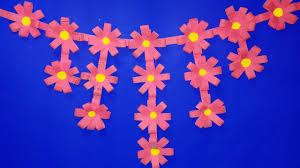 how to make paper flowers for wall hanging decor home decoration