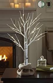 artificial birch trees with lights amazon com warm white led birch tree birch branch tree lit tree