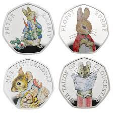 rabbit by beatrix potter rabbit among beatrix potter characters to on new coins