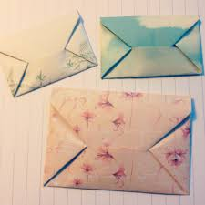 How To Fold A4 Paper Into An Envelope The Last Days Of Spring Diy Origami Envelope Do It Yourself